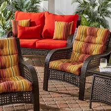 Portofino Patio Furniture Replacement Cushions by Amazon Com Greendale Home Fashions Outdoor High Back Chair