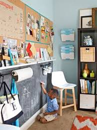 Divide A Wall To Separate Kid And Adult Work Play Space