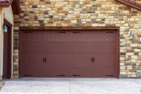 Brown Painting Garage Door — Home Ideas Collection Good Painting