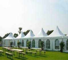 Outdoor Decor Tent Party Wedding Noble Folding Canopy Heavy Duty Gazebo Pavilion Cater Events Aluminum Al Discount