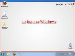 bureau windows le bureau windows et ses différents éléments pei