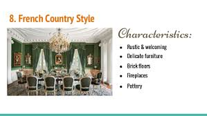 Repeated 10 8 French Country Style Characteristics Rustic
