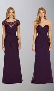 removable vest long purple trumpet bridesmaid dress ksp405 ksp405