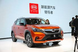 All 8 BYD s 8 Vehicles Display At Shanghai Auto Show Are
