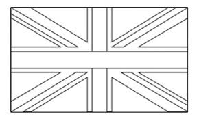 Colouring Pages Union Jack Flag Flags Of The World Kidspot