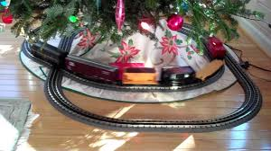 MTH F3 Pennsylvania O Gauge Train Set Running Around Christmas Tree 12 11 2011