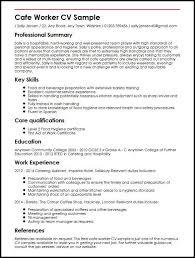 Cv For Job