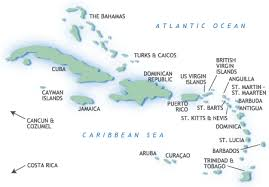 Caribbean Islands Detailed Maps