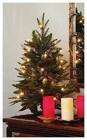 GKI Bethlehem Lighting 2 Foot Green River Spruce Christmas Tree Pre