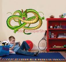 Dragon Ball Z Decorations by Wall Decal Cool Dragon Ball Z Wall Decals Dragon Ball Z Wall Art