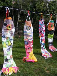 Recycled Plastic Art Project In Schools Ideas