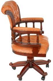fauteuil de bureau chesterfield style anglais oxford meuble de style