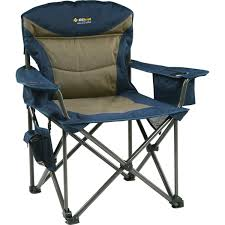 Coleman Oversized Quad Chair With Cooler Pouch by Use Comfortable Camp Chairs On Camping Trips U2013 Decorifusta