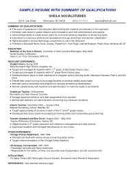 Resume Examples With Summary Resumeexamples Pdf Chef