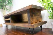 Item 3 Vintage TV Stand Wooden Rustic Cabinet Media Storage Shelf Unit Living Furniture