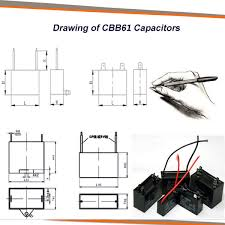Cbb61 Ceiling Fan Capacitor 2 Wire by A Class Ac Motor Fan Cbb61 2uf 400v 2wire Ceiling Fan Wiring