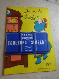 Cu1106 Album à Colorier 50s Ptit Cochon Pendu Au Plafond
