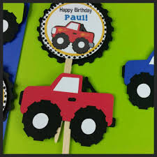 12 Personalized Monster Truck Cupcake Toppers | Grace Giggles And Glue 80 Off Sale Monster Jam Straw Tags Instant Download Printable Amazoncom 36 Pack Toy Trucks Pull Back And Push Friction Jam Sticker Sheets 4 Birthdayexpresscom 3d Dinner Plates 25 Images Of Template For Cupcake Toppers Monsters Infovianet Personalised Blaze And The Monster Machines 75 6 X 2 Round Truck Edible Cake Topper Frosting 14 Sheet Pieces Birthday Party Criolla Brithday Wedding Printables Inofations For Your Design Pin The Tire On Party Game Instant