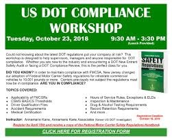 New Jersey Motor Truck Association - US DOT COMPLIANCE WORKSHOP What Do Truck Drivers Need To Have In Their Permit Book Rigid Continuous Onoffduty Time Is Source Of Hos Problems Issue No 594 Horticultural Sciences At University Florida Are Some Driver Outofservice Oos Vlations Dot Csa There New Law On Physical Sleep Apnea Yet When Big Rigs Push Past The Safety Rules Hamodiacom Tips For Truck And Bus Drivers Federal Motor Carrier Nyc Trucks Commercial Vehicles Fmcsa Trucker Traing Rule Officially Effect Elds Privacy Will Quirement Track Truckers Derail Mandate Delaware Rewrites Rules After Residents Complain About Semi Trucks