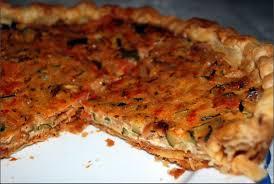 tarte salée aux courgettes et tomates http www petitsplaisirs org