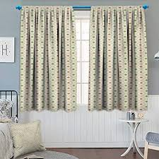 Anhounine AbstractBlackout CurtainMiddle Eastern Civilizations Inspired Geometric Pattern Floral VintageDrapes