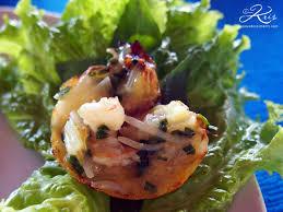 cuisine au lait de coco bahn khot crêpes vietnamiennes aux crevettes et au lait de coco