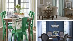 Dining Rooms With Color Accents