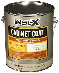 insl x cabinet coat colors insl x products cc4560092 01 gallon satin tint cab enamel