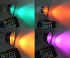 multicolor led light bulb