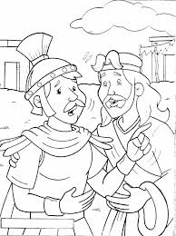 John Jesus Healed An Officials Son Faith Of A Centurion Coloring Page