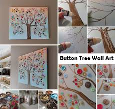Tree Wall Decor With Pictures by Fantastic Diy Button Tree Wall Decor Amazing Diy Interior
