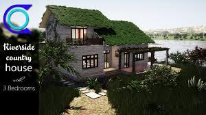 104 River Side House Side Country Design Design Plan 3 Bedrooms Home Design 3d Full Plan Youtube