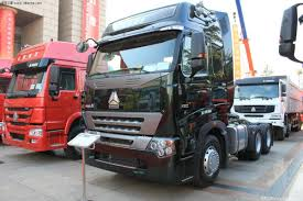 China Sinotruk 50ton Hauling Load Trailer Truck With 10 Speed Gear ...