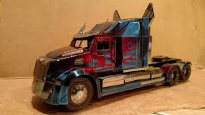 100 Optimus Prime Truck Model Fascinations Iconx 3 12 Hour Build Metalearth