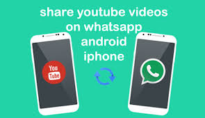 how to share youtube videos on whatsapp android iphone
