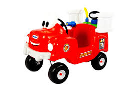 Amazon.com: Little Tikes Spray And Rescue Fire Truck: Toys & Games ...