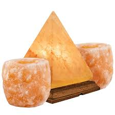 Pyramid Salt Lamps Australia by Amazon Com Crystal Allies Gallery Ca Sls Pyr 12cm Combo Natural