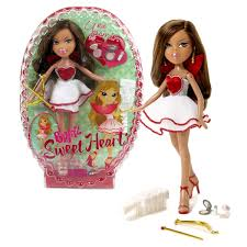 Amazoncom MGA Entertainment Bratz Sweet Heart Series 10 Inch Doll