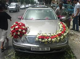 decoration voiture mariage originale voiture de mariee a l algerienne a photo from alger coast