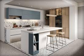 moderne einbauküche modo l form küche mit kochinsel weiß