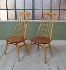 Pair Of Vintage Ercol 369 Goldsmith Blonde High Back Dining Chairs Mid  Century Indoor Chairs Slope Leather Ding Chair Room Midcentury Cane Back Set Of 6 Modern High Mid Century Walnut Accent Wingback Curved Arm Nailhead W Wood Leg Project Reveal Oklahoma City High End Upholstered Ding Chairs Ameranhydraulicsco 1950s Metalcraft 2 Available Listing Per 1 Chair Floral Vinyl Covered With Brown Steel Frames Design Institute America A Pair Midcentury Fniture Basix Kitchen Best For Home