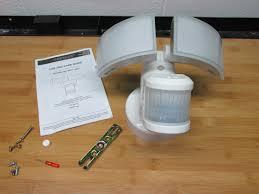 Defiant 180 Degree White Outdoor LED Motion Security Light DFI