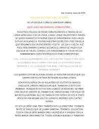 Calaméo Carta De La Seño SAM