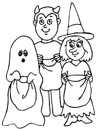 Halloween Coloring Pages To Print Out For Free New