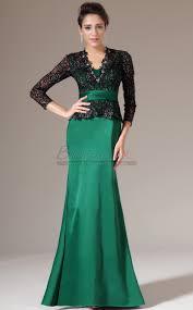 v neck long matte satin lace green mermaid bridesmaid dress with