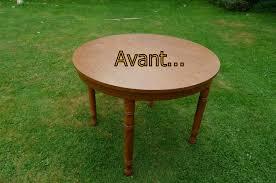 relooker une table de cuisine customiser une table en bois maison design bahbe com