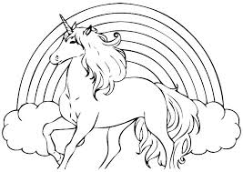 Inspiring Unicorns Coloring Pages Amazing Unicorn Online And Flying Printable