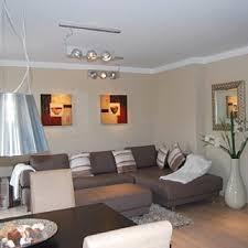 gardinen wohnzimmer braun beige caseconrad