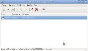les carnets d ubuntu remmina bureau à distance