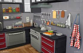 Kitchen Decor Set For Sims 4